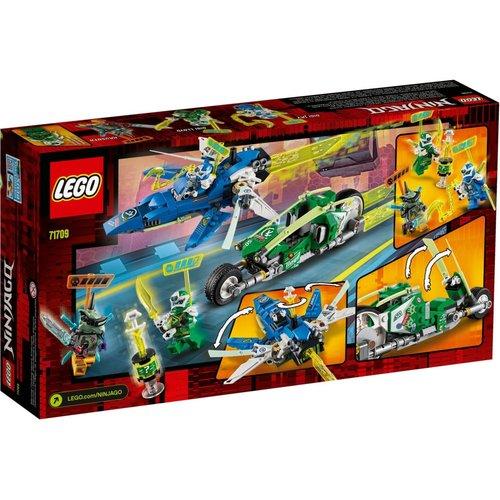 LEGO Ninjago 71709 Jay en Lloyd´s supersnelle racers