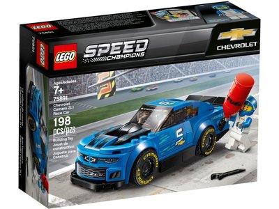 LEGO Speed Champions 75891 Chevrolet Camaro ZL1 racewagen