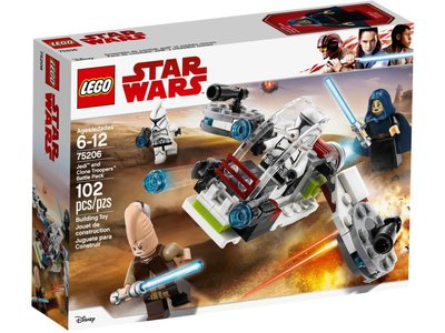 LEGO Star Wars 75206 Jedi en Clone Troopers Battle Pack