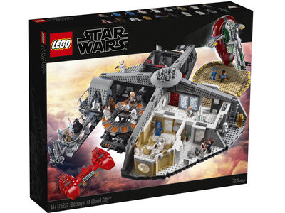 LEGO Star Wars 75222 Verraad in Cloud City