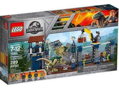 LEGO Jurassic World 75931 Aanval op de uitkijktoren van Dilophosaurus