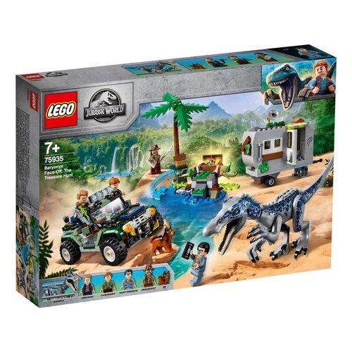 LEGO Jurassic World 75935 Confrontatie met Baryonyx: de schattenjacht