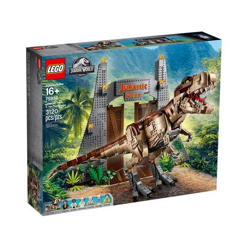 LEGO Jurassic World 75936 Jurassic Park: T. rex chaos