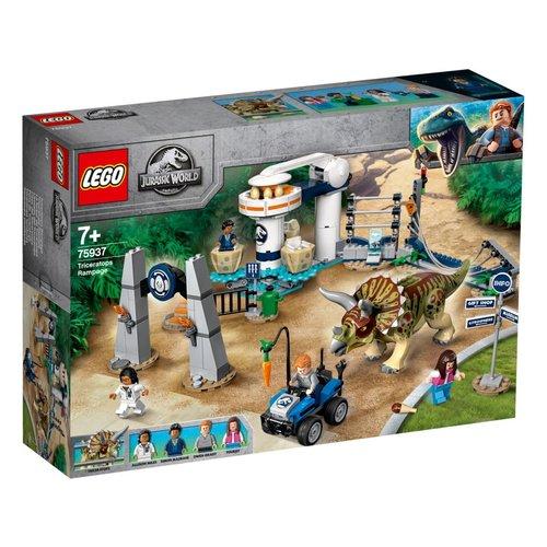 LEGO Jurassic World 75937 Triceratopschaos
