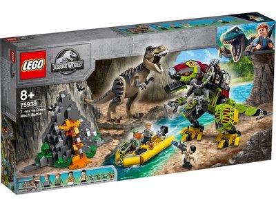 LEGO Jurassic World 75938 T. Rex vs. Dinomecha gevecht