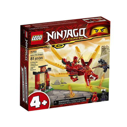 LEGO Ninjago 71701 Kai's vuurdraak