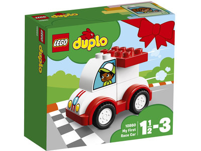 LEGO DUPLO 10860 Mijn eerste racewagen