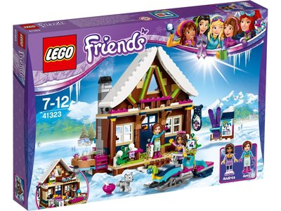 LEGO Friends 41323 Wintersport Chalet