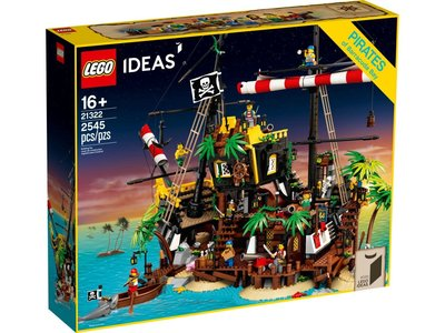 LEGO Ideas 21322 Piraten van Barracuda Baai