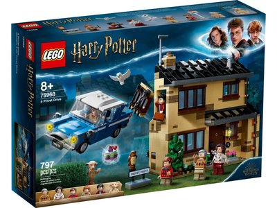 LEGO Harry Potter 75968 Ligusterlaan 4