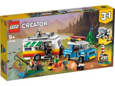 LEGO Creator 3 in 1 31108 Familievakantie met caravan