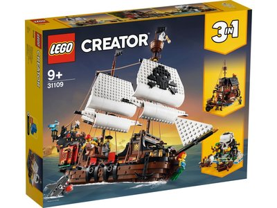 PRE-ORDER LEGO Creator 3 in 1 31109 Piratenschip