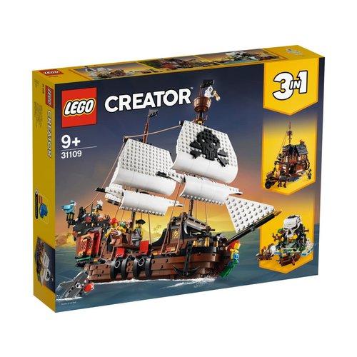 LEGO Creator 3 in 1 31109 Piratenschip