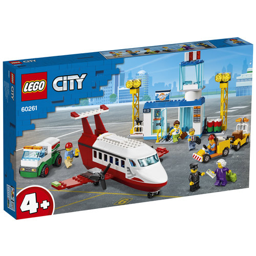 LEGO City 60261 Centrale luchthaven