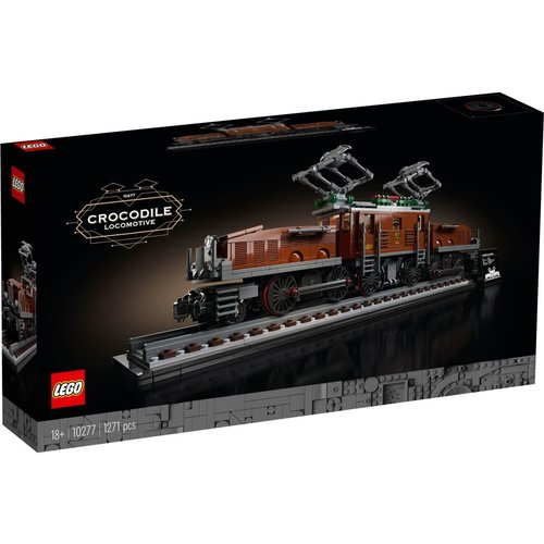 LEGO Creator Expert 10277 Krokodil Locomotief