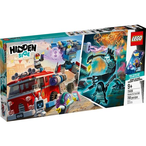 LEGO Hidden Side 70436 Spookbrandweerauto 3000