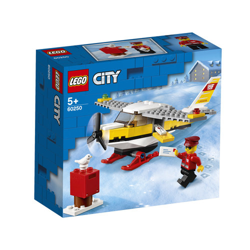 LEGO City 60250 Postvliegtuig