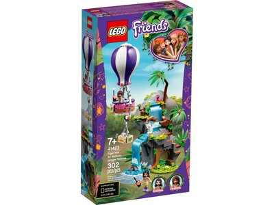 LEGO Friends 41423 Tijger reddingsactie met luchtballon in jungle