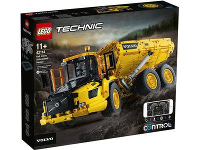 PRE-ORDER LEGO Technic 42114 Volvo 6x6 Truck met kieptrailer