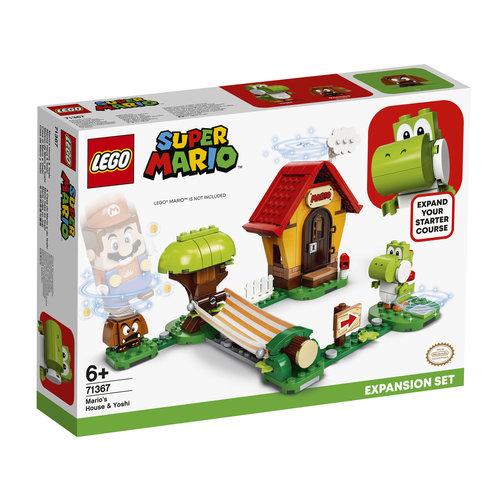 LEGO Super Mario 71367 Uitbreidingsset: Mario's huis en Yoshi