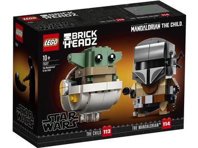LEGO Star Wars 75317 De Mandalorian en het Kind