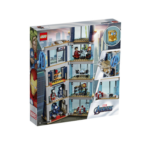 LEGO Super Heroes Marvel 76166 Avengers torengevecht