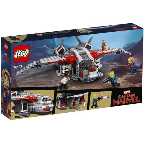 LEGO Super Heroes 76127 Avengers: Captain Marvel de aanval van de Skrulls