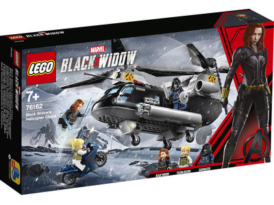 LEGO Super Heroes 76162 Avengers: Black Widow's helikopterachtervolging