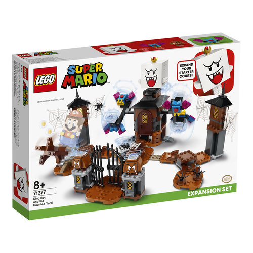 LEGO Super Mario 71377 Uitbreidingsset: King Boo en de spooktuin