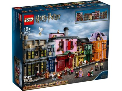 LEGO Harry Potter 75978 De Wegisweg