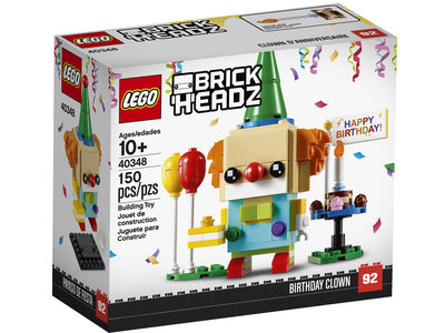 LEGO Brickheadz 40348 Verjaardagsclown
