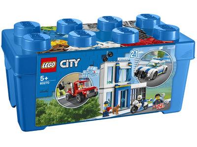LEGO City 60270 Politie opbergdoos