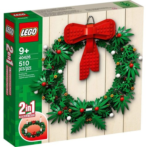 LEGO Exclusive 40426 Kerstkrans 2-in-1