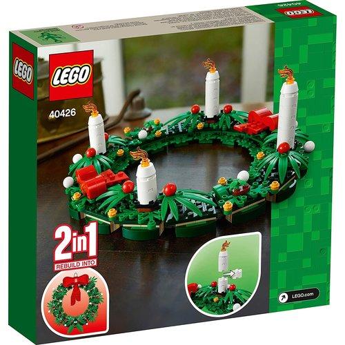 LEGO Exclusive 40426 Kerstkrans 2-in-1