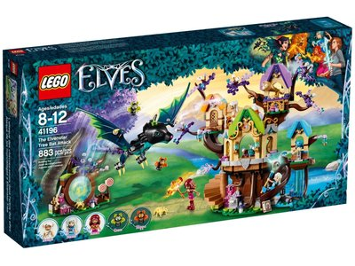 LEGO Elves 41196 Vleermuisaanval bij de Elvenstar boom