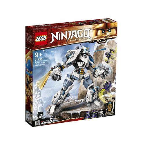 LEGO Ninjago 71738 Zane's Titanium Mecha Duel