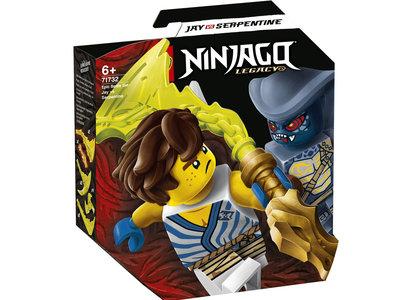 LEGO Ninjago 71732 Epische Strijd set - Jay tegen Serpentine