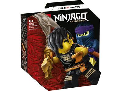 LEGO Ninjago 71733 Epische Strijd set Cole tegen Spookrijder