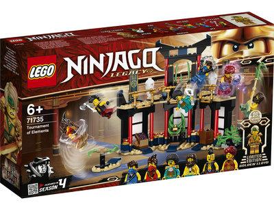 LEGO Ninjago 71735 Toernooi der Elementen