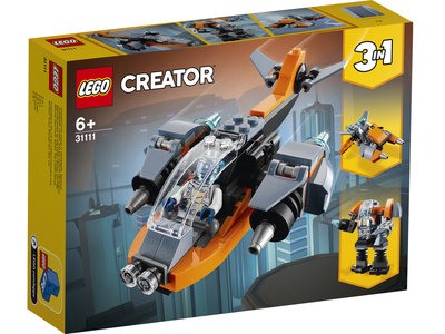 LEGO Creator 3 in 1 31111 Cyberdrone