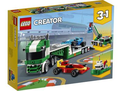 LEGO Creator 3 in 1 31113 Racewagen transportvoertuig