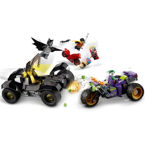 LEGO Batman 76159 Joker's trike achtervolging