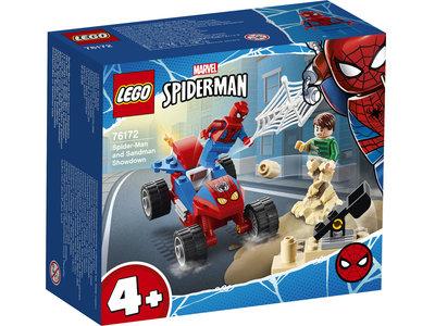 LEGO Super Heroes 76172 Spider-Man en Sandman duel