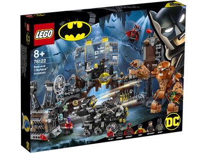 LEGO Super Heroes 76122 Batcave invasie Clayface