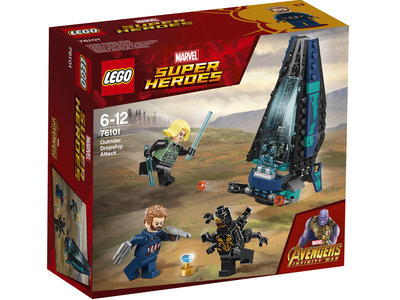 LEGO Super Heroes 76101 Outrider shuttle aanval