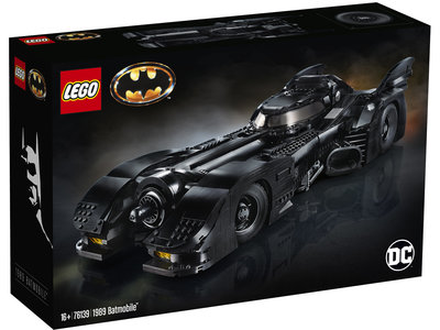 LEGO Super Heroes 76139 1989 Batmobile