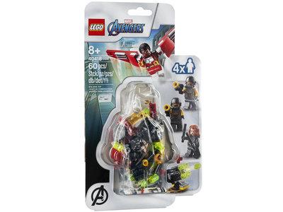 LEGO Marvel 40418 Avengers: Falcon en Black Widow duoteam