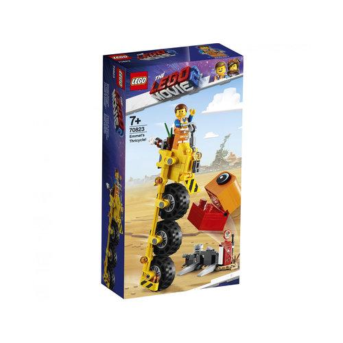 LEGO Movie 70823 Emmet's driewieler!