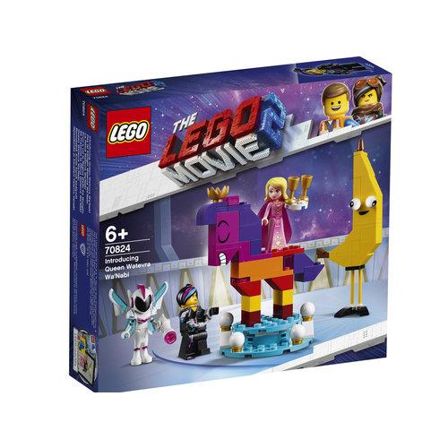 LEGO Movie 70824 Maak kennis met koningin Wiedanook Watdanook