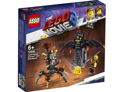 LEGO Movie 70836 Gevechtsklare Batman en Metaalbaard
